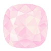 Swarovski 4470 Cushion Cut Square Fancy Stone 10mm Crystal Powder Rose